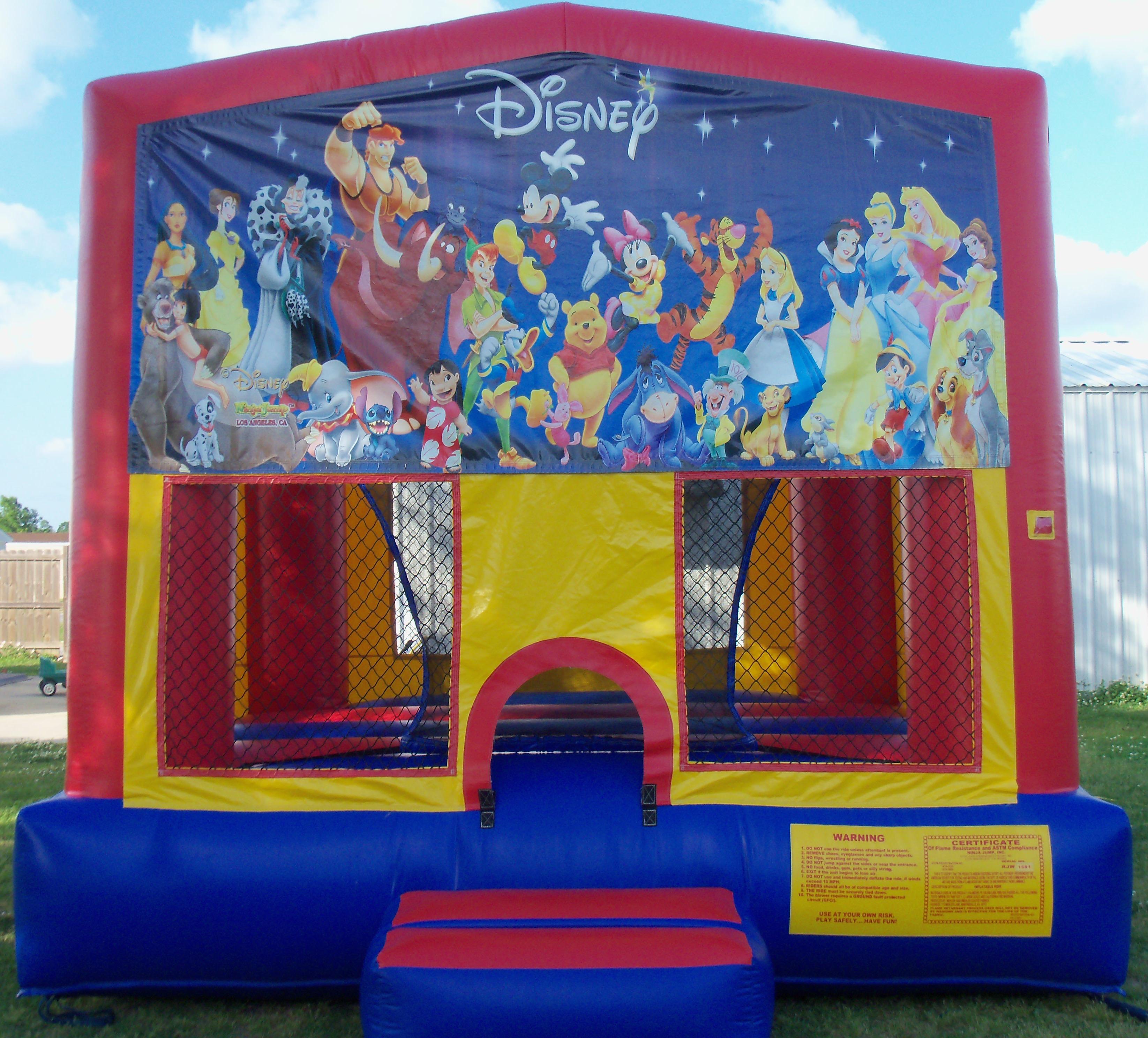 Disney World Bounce House Louisiana
