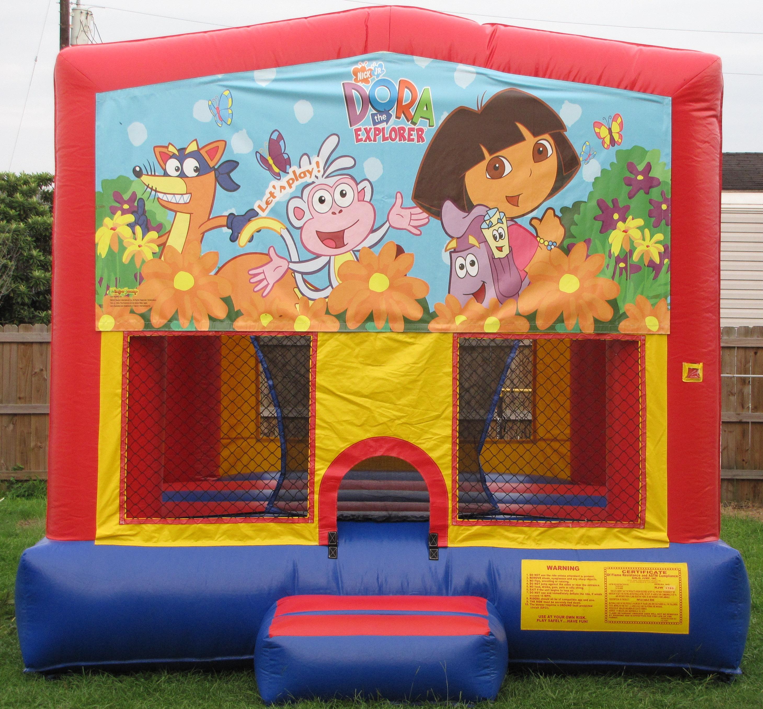 Dora The Explorer Bounce House